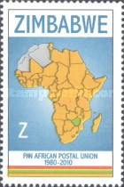 [The 30th Anniversary of the PAPU - Pan African Postal Union, type AAX]