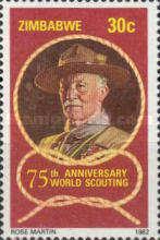 [The 75th Anniversary of Boy Scout Movement, type AM]