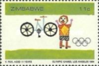 [Olympic Games - Los Angeles, USA, type BH]