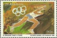 [Olympic Games - Los Angeles, USA, type BJ]