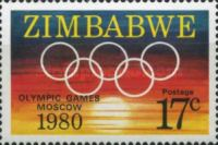[Olympic Games - Moscow, USSR, type Q]
