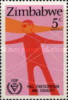 [International Year of Disabled Persons, type V]