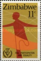 [International Year of Disabled Persons, type X]