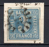 [No. 2 from New Plates - Greyish to Greenish Blue Colors, type B3]