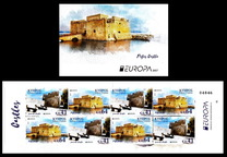 [EUROPA Stamps -  Palaces and Castles, type ATA]